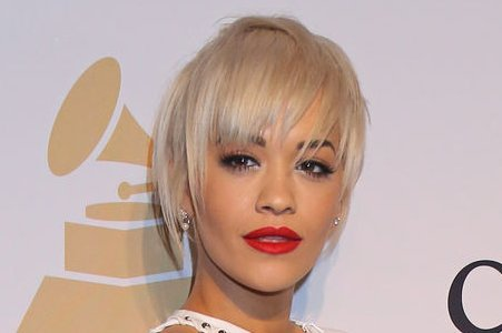 Rita Ora at the Clive Davis pre-Grammy party on February 7, 2015. Photo by David Silpa/UPI