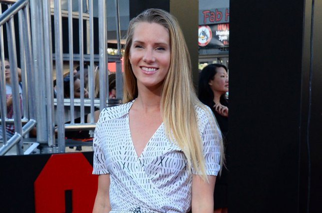 Heather Morris attends the premiere of the motion picture crime comedy 22 Jump Street in Los Angeles on June 10, 2014. The actress was eliminated from Season 24 of DWTS Monday night. File Photo by Jim Ruymen/UPI