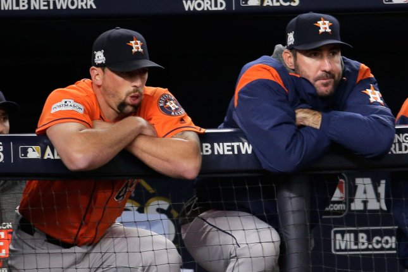 ALCS Game 6 Justin Verlander tasked with saving Houston Astros