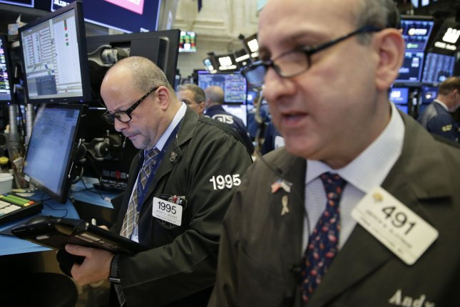 Crude oil prices turned lower in mid-morning trading on Wednesday as volatility continues. Photo by John Angelillo/UPI
