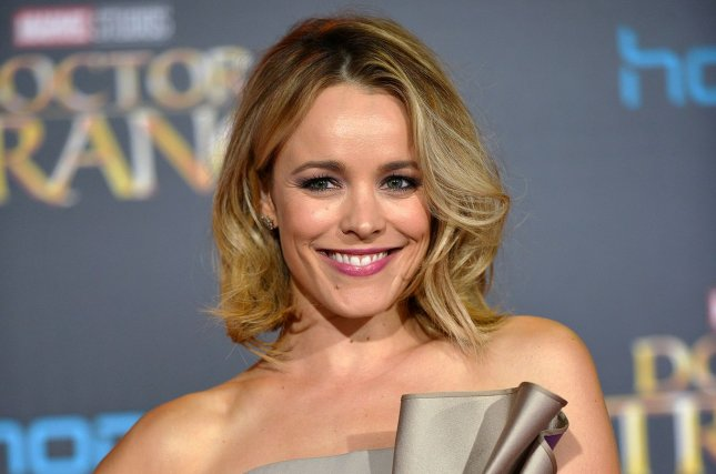 Rachel McAdams discussed parenthood after welcoming a baby boy with Jamie Linden in April. File Photo by Christine Chew/UPI