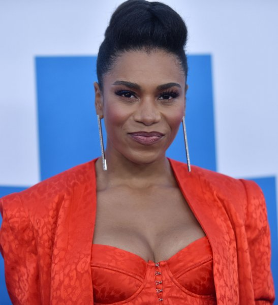 Actress Kelly McCreary will appear in a Grey's Anatomy-Station 19 crossover on May 2. File Photo by Chris Chew/UPI