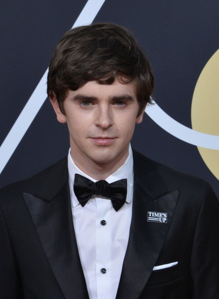 The Good Doctor star Freddie Highmore. The show will return for Season 4 on ABC. File Photo by Jim Ruymen/UPI