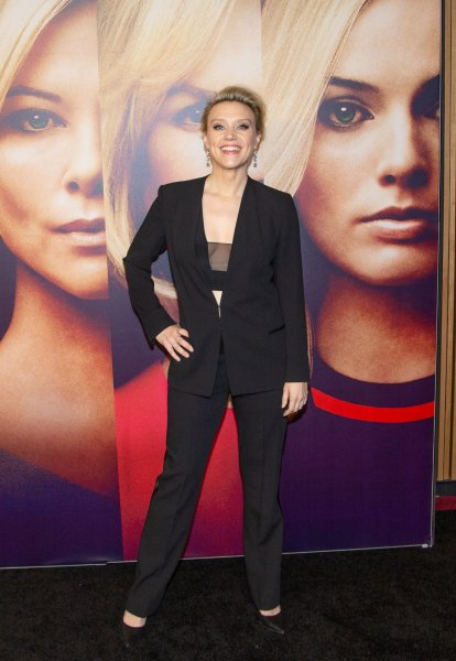 Kate McKinnon arrives on the red carpet at a screening of Bombshell at Lincoln Center's Frederick P. Rose Hall on December 16 in New York City. The film was one of three major studio releases in 2019 to feature a bisexual character. File Photo by Serena Xu-Ning Carr/UPI