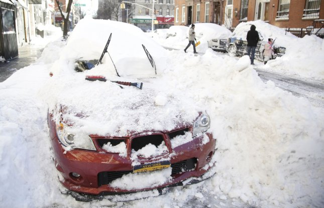 Scientists are reportedly working to develop ice-phobic surfaces, or materials to which ice simply slides off instead of becoming hard to remove. They predict the method can be used on car windshields, airplanes and other everyday objects. File Photo by John Angelillo/UPI