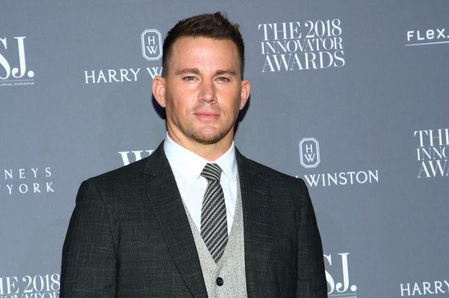 Channing Tatum enjoyed an arts and crafts day with daughter Everly. Photo by Monika Graff/UPI