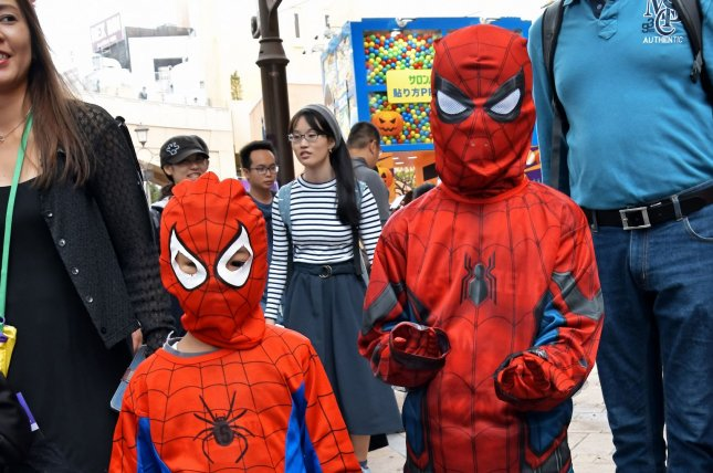 The Centers for Disease Control and Prevention is recommending against trick-or-treating this year. File Photo by Keizo Mori/UPI