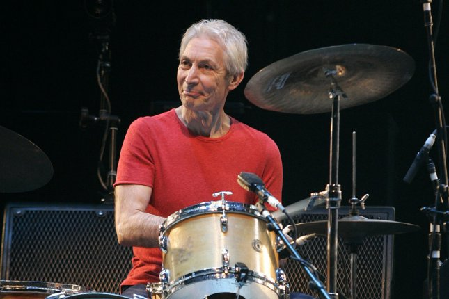 Charlie Watts and the Rolling Stones perform in concert at the Bank Atlantic Center in Sunrise, Fla., in 2006. He died Tuesday at age 80. File Photo by Michael Bush/UPI