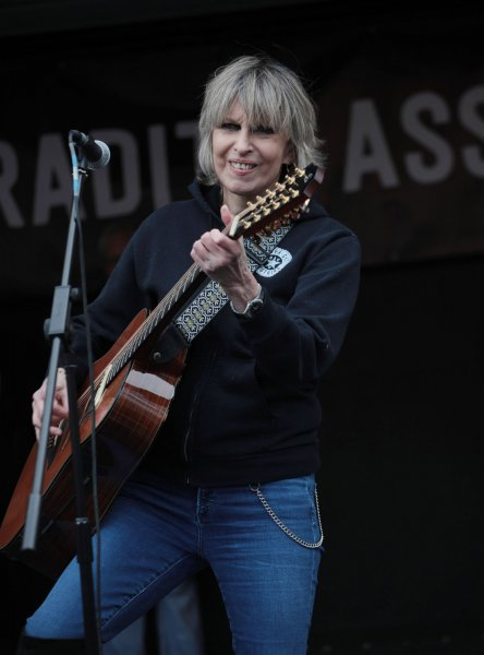 Chrissie Hynde performs February 22, 2020, in London. The musician turns 70 on September 7. File Photo by Hugo Philpott/UPI