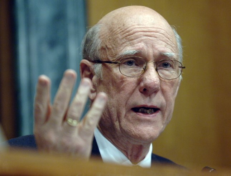 Sen. Pat Roberts (R-KN). (UPI Photo/Kevin Dietsch).
