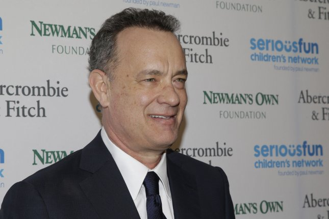 Tom Hanks is now filming Sully in New York with director Clint Eastwood. Photo by John Angelillo/UPI