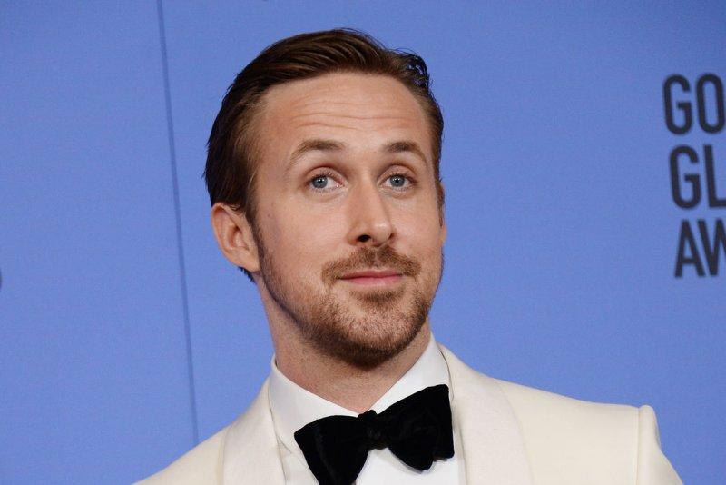 Ryan Gosling at the Golden Globe Awards on January 8. File Photo by Jim Ruymen/UPI