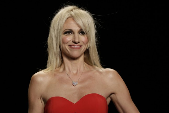 Debbie Gibson walks the runway at The American Heart Association's Go Red For Women Red Dress Collection 2016 Presented By Macy's at New York Fashion Week on February 11, 2016. The singer was eliminated from Dancing with the Stars Tuesday night. File Photo by John Angelillo/UPI