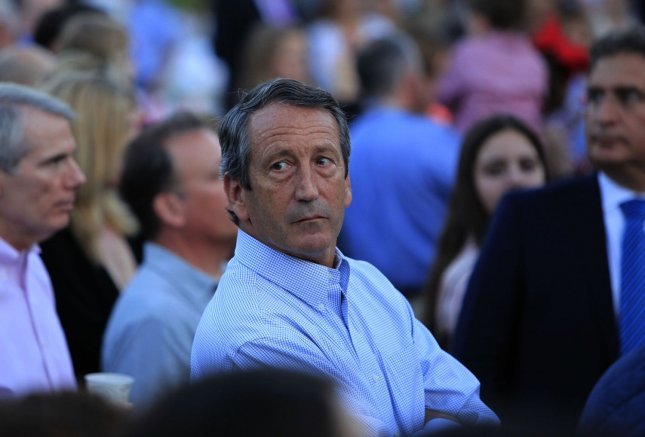 Rep. Mark Sanford, R-S.C., attends the Congressional Picnic on the South Lawn of the White House on September 17, 2014. On Tuesday, Sanford lost his primary to challenger Katie Arrington. File Photo by Dennis Brack/UPI