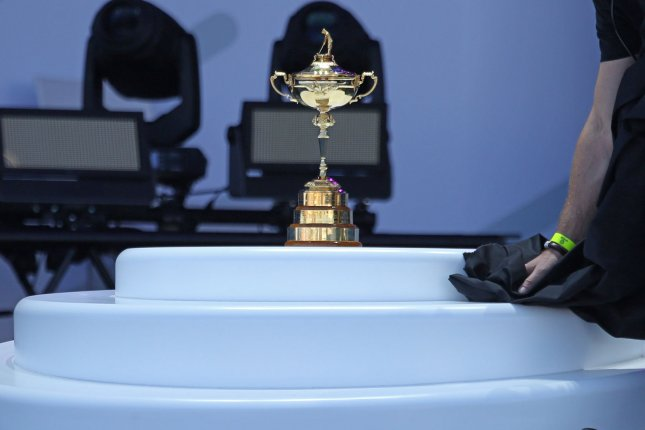 The 43rd Ryder Cup matches were originally scheduled to take place Sept. 25-27 at Whistling Straits in Sheboygan, Wisc. File Photo by David Silpa/UPI