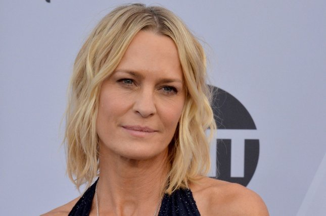 Robin Wright's directorial debut, Land, will be coming to theaters in February. File Photo by Jim Ruymen/UPI