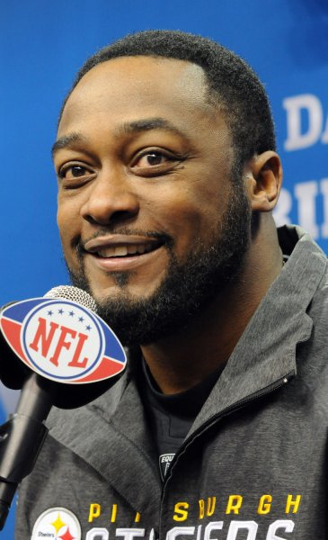 Mike Tomlin of the Pittsburgh Steelersparticipates in Media Day for Super Bowl XLV in Arlington, Texas on February 1, 2011. The Pittsburgh Steelers will take on the Green Bay Packers on February 6, 2011. UPI/Ian Halperin