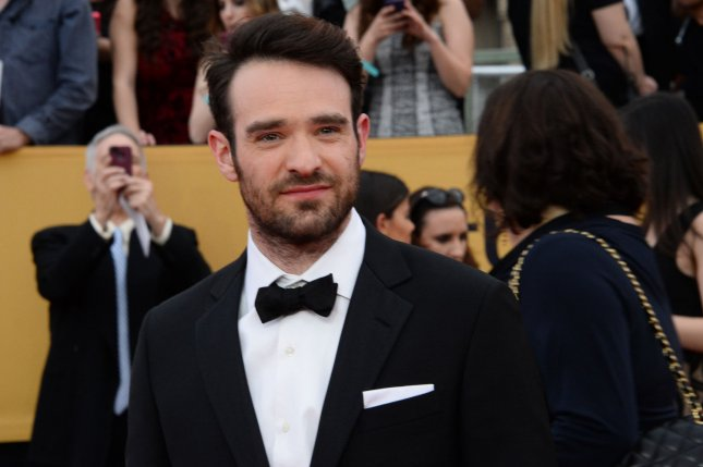 Charlie Cox arrives for the 21st annual SAG Awards held at the Shrine Auditorium in Los Angeles on January 25, 2015. Cox plays Matt Murdock, AKA Daredevil, in the Netflix Original of the same name. File Photo by Jim Ruymen/UPI