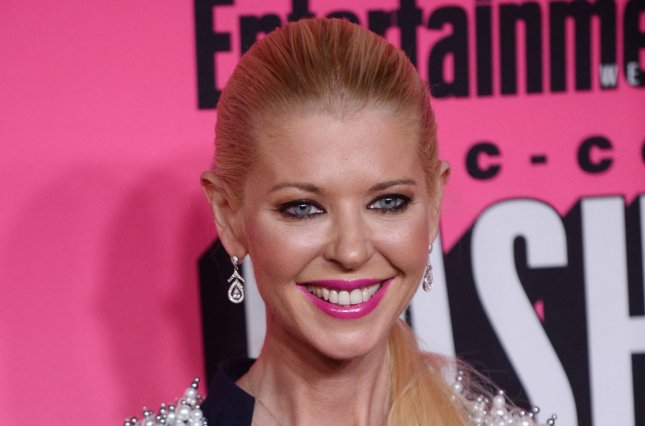 Tara Reid at Entertainment Weekly's San Diego Comic-Con bash on July 23. The actress' dad died Friday age age 76. File Photo by Jim Ruymen/UPI