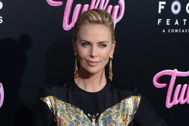Charlize Theron will portray news anchor Megyn Kelly in a film about former Fox News head Roger Ailes. File Photo by Jim Ruymen/UPI