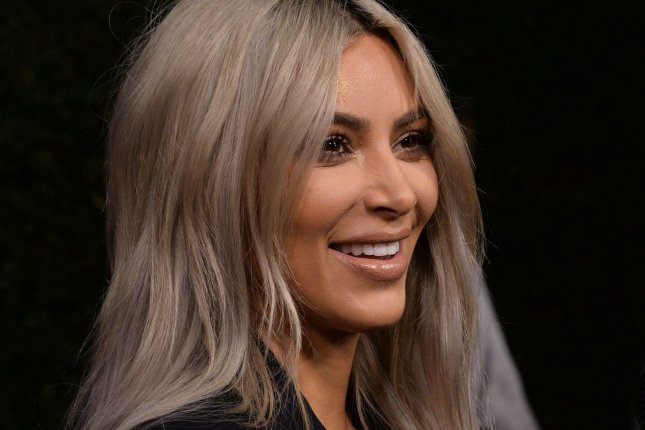 Kim Kardashian shared a cute photo of Saint West with Chicago West. File Photo by Jim Ruymen/UPI