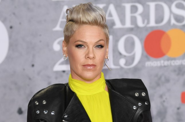 Pink will be honored at the E! People's Choice Awards in November. File Photo by Rune Hellestad/ UPI