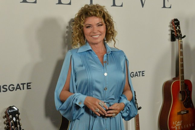 Shania Twain attends the premiere of I Still Believe at the ArcLight Cinema Dome in the Hollywood section of Los Angeles on March 7. She turns 55 on August 28. File Photo by Jim Ruymen/UPI