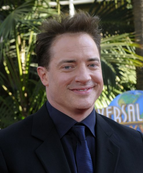 Brendan Fraser, a cast member in the motion picture fantasy thriller The Mummy: Tomb of the Dragon Emperor, attends the premiere of the film in Los Angeles on July 27, 2008. (UPI Photo/Jim Ruymen)