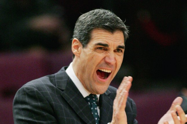 Jay Wright, head coach for Villanova. UPI Photo/Monika Graff...