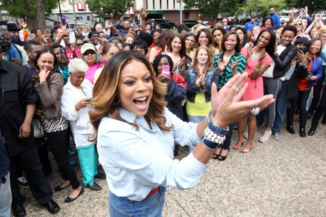 Wendy Williams films promotional spots for Wendy in St. Louis, Mo., on May 16, 2014. The television personality said Tuesday that all is well with husband Kevin Hunter. File Photo by Bill Greenblatt/UPI