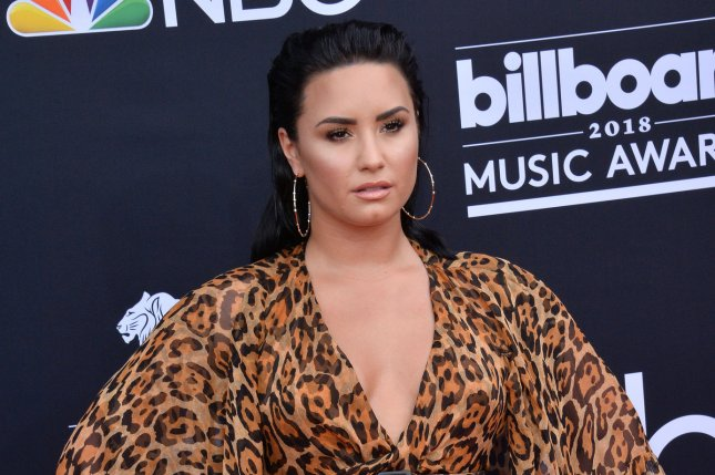 Los Angeles police confirmed they responded to a medical emergency on Demi Lovato's block, but declined to identify her by name. File Photo by Jim Ruymen/UPI