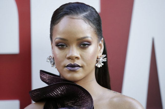 Rihanna will relaunch her fashion line Fenty as a new luxury maison with Moët Hennessy Louis Vuitton. File Photo by John Angelillo/UPI