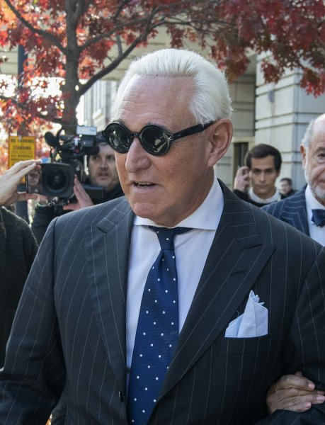 Roger Stone's lawyers said they needed more time to compile his financial documents for his sentencing advisory report. File Photo by Pat Benic/UPI