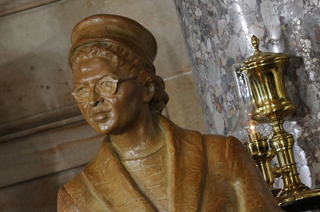 Statue of Rosa Parks at the United States Capitol February 27, 2013 in Washington, DC. UPI/Olivier Douliery/Pool