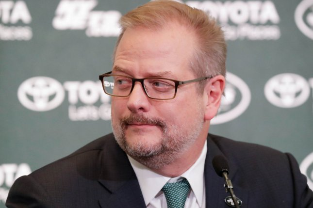 Former general manager Mike Maccagnan joined the New York Jets in 2015 after working for several other NFL and CFL franchises. File Photo by John Angelillo/UPI