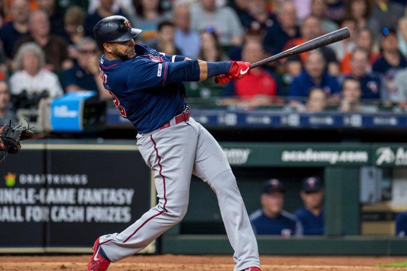 Twins veteran Nelson Cruz has seven home runs this season. File Photo by Trask Smith/UPI