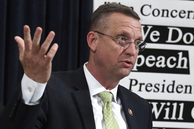 Rep. Doug Collins of Georgia announced a run for the U.S. Senate Wednesday. File photo by Mike Theiler/UPI