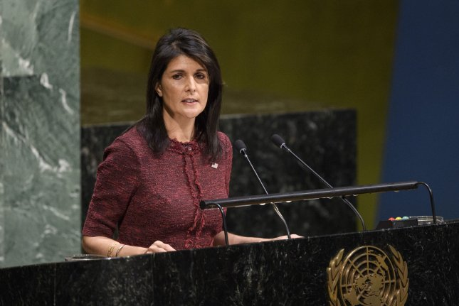 Nikki Haley joined the Boeing board in April 2019 after serving as President Donald Trump's top ambassador to the United Nations. File Photo by Manuel Elias/U.N./UPI