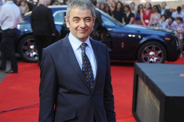 Maigret actor Rowan Atkinson attends the premiere of Johnny English Reborn in London on October 2, 2011. File Photo by Rune Hellestad/UPI