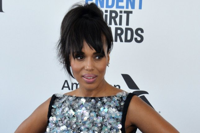Kerry Washington attends the Film Independent Spirit Awards on February 25. The actress plays Olivia Pope on Scandal. File Photo by Jim Ruymen/UPI