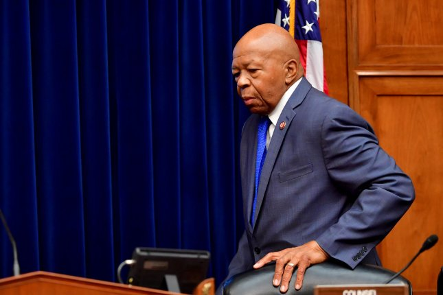 House Oversight committee Chairman Elijah Cummings, D-Md., said the committee has repeatedly asked the White House for the documents Democrats will now subpoena. File Photo by Kevin Dietsch/UPI