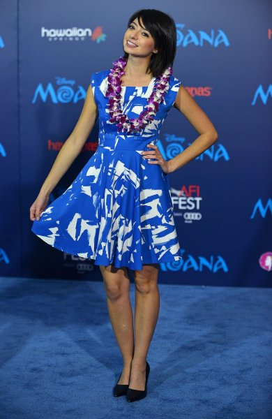 Kate Micucci arrives at the world premiere of Moana at Hollywood's El Capitan Theatre in Los Angeles on November 14, 2016. The actor turns 40 on March 31. File Photo by Christine Chew/UPI