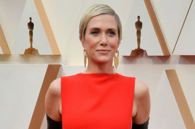 Kristen Wiig discussed her life with Avi Rothman and their 1-year-old twins. File Photo by Jim Ruymen/UPI