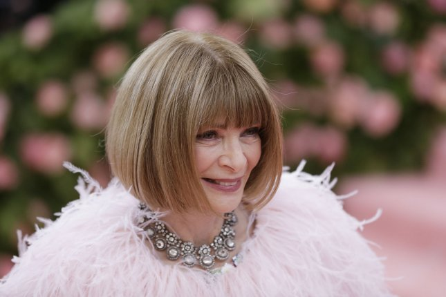 Anna Wintour is a longtime chair of the Met Gala, which will return this year with the first of a two-part exhibition on American fashion. File Photo by John Angelillo/UPI