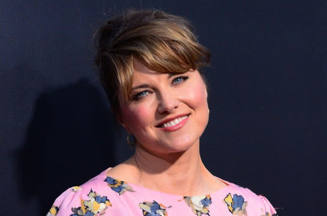 Actress Lucy Lawless attends the premiere of the motion picture horror thriller The Possession, at the Arclight Cinerama Dome in the Hollywood section of Los Angeles on August 28, 2012. UPI/Jim Ruymen