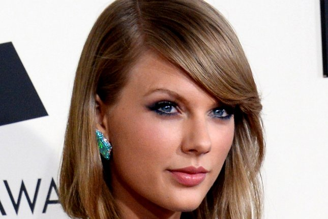 Taylor Swift at the 57th annual Grammy Awards on February 8, 2015. Photo by Jim Ruymen/UPI