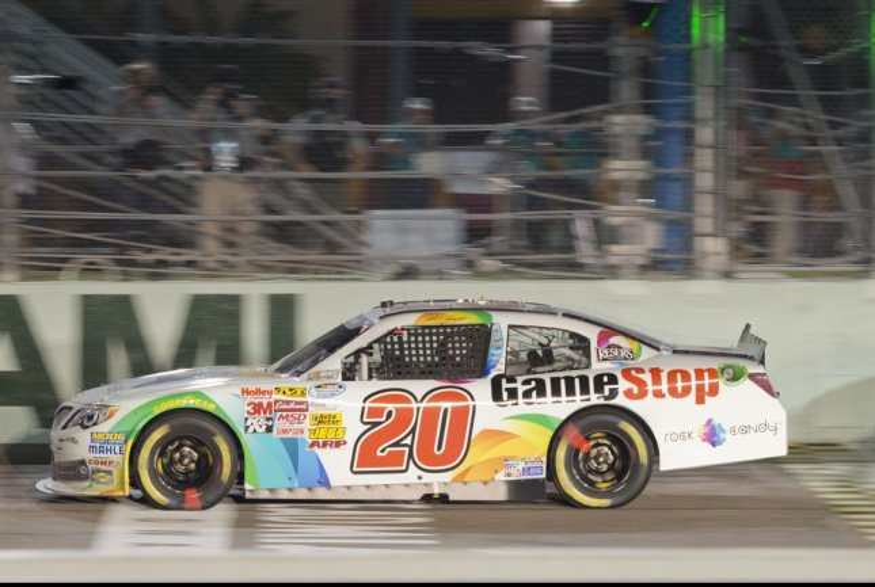 NASCAR Nationwide Series Championship driver Matt Kenseth. UPI/Gary I Rothstein