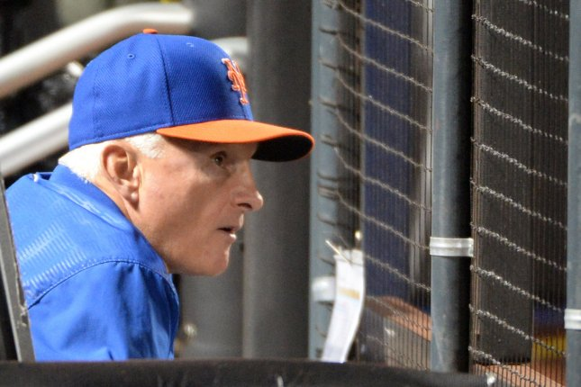 New York Mets' Terry Collins. Photo by Pat Benic/UPI