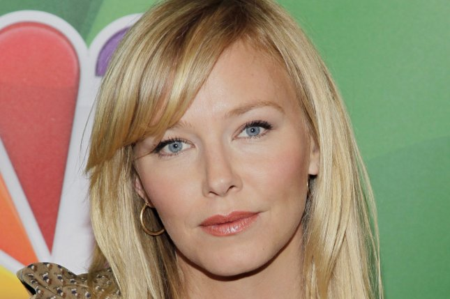 Kelli Giddish at the NBC Upfront on May 13, 2013. The actress is married and expecting her first child with Lawrence Falbourn. File photo by John Angelillo/UPI