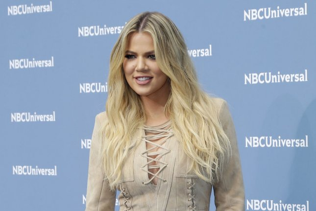 Khloe Kardashian arrives on the carpet the 2016 NBCUNIVERSAL Upfront at Radio City Music Hall on May 16, 2016 in New York City. File Photo by John Angelillo/UPI